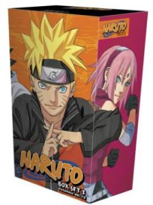 naruto box set 3 volumes 49-72 with premium