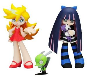 panty and stocking with chuck action figure