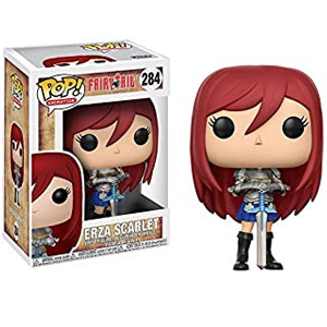 erza scarlet action figure funko pop