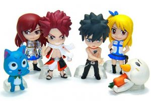 fairy tail 6pcs action figure