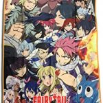 fairy tail big group sublimation throw blanket