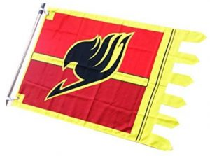 fairy tail guild sign flag