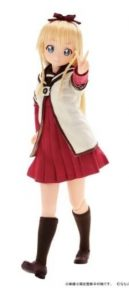 Toshinou kyouko action figure Pureneemo