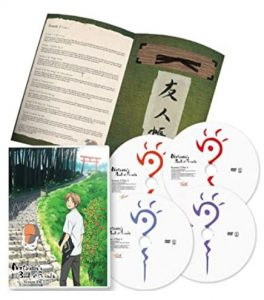 natsume yuujinchou DVD season 1 and 2 standard edition