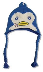 penguindrum penguin knitted beanie