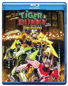 tiger and bunny movie the rising blu-ray combo pack