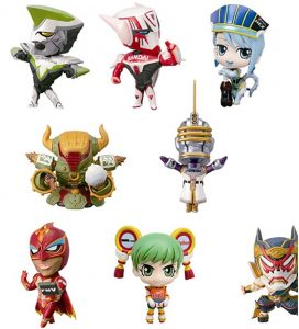 tiger and bunny petit figure one set