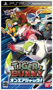 tiger and bunny video game aired jack psp