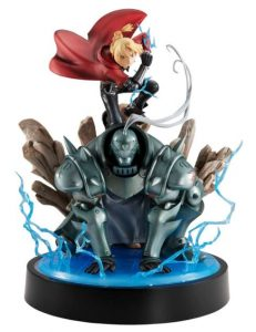 alphonse elric action figure gem series with edward elric