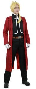 edward elric cosplay costume