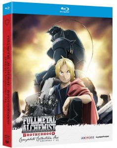 fullmetal alchemist brotherhood blu ray collection 1
