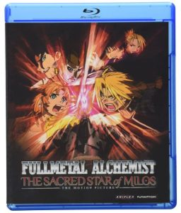 fullmetal alchemist the sacred star of milos blu ray